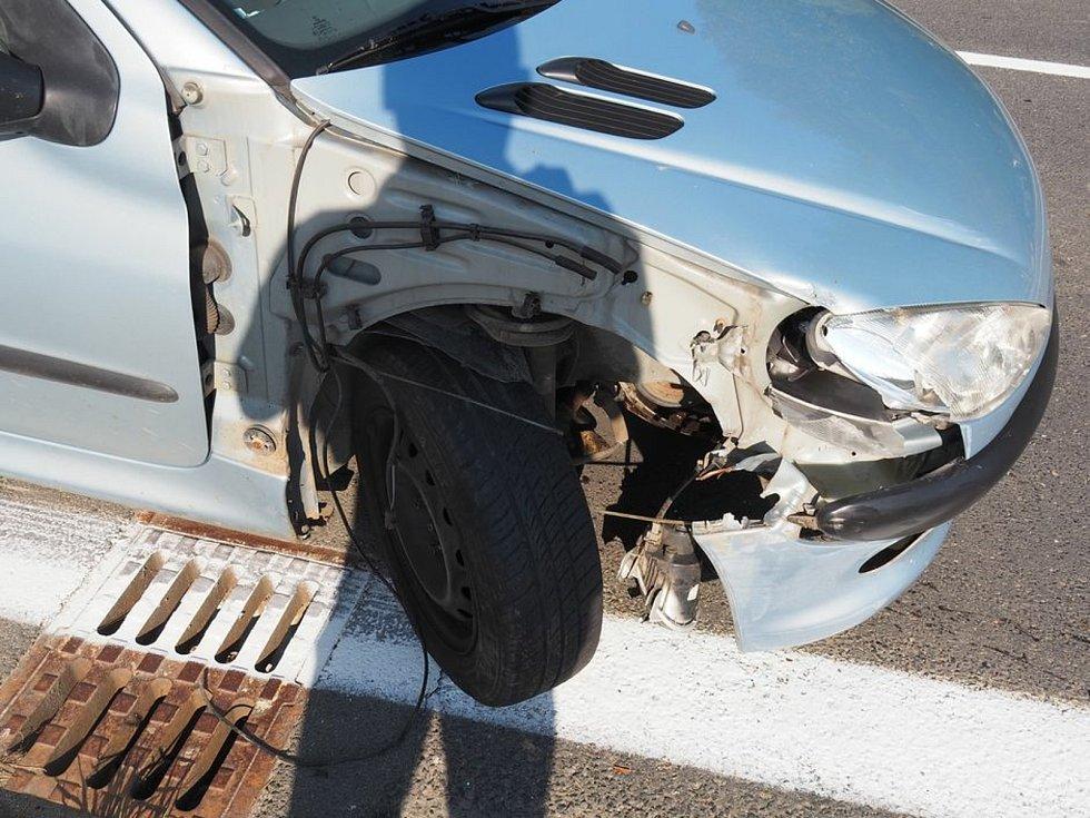 Nehoda ve Zvoli - 15. 9. 2020