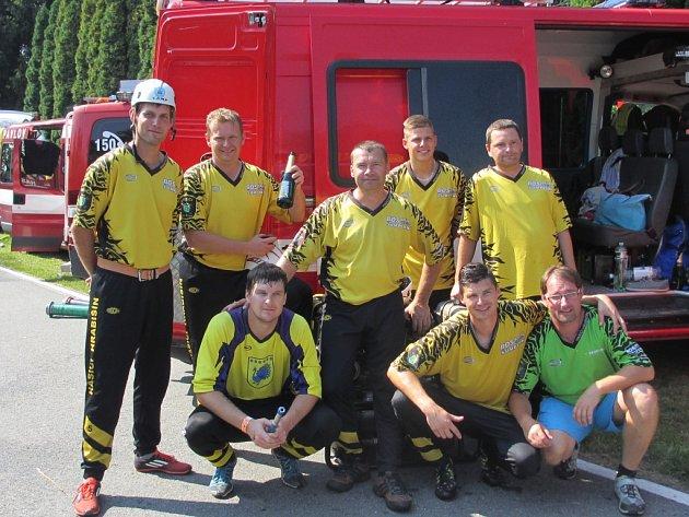 Vítěz letošního Holba Cupu, družstvo SDH Hrabišín.