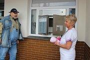 Otevření babyboxu v Jesenické nemocnici