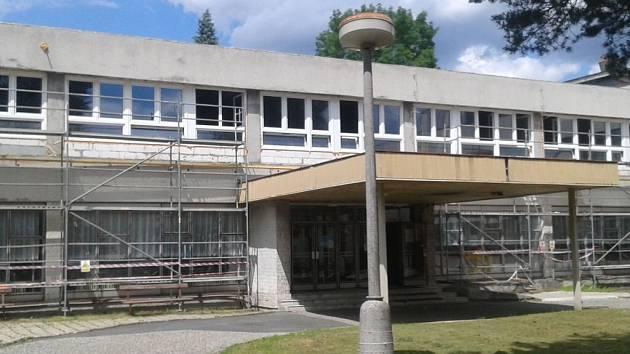 Rekonstruované oddělení léčebny dlouhodobě nemocných Jesenické nemocnice