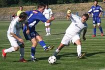 Litovel porazila Mohelnici (bílé dresy)