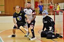 Florbalisté Šumperku nezahájili sice domácí turnaj 1. kola českého poháru nejlépe, ale i přes úvodní porážku nakonec dokázali postoupit do druhého kola.