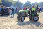 Traktoriáda v mohelnických lomech 2019