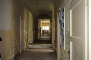 Bourání šumperské Sanatorky