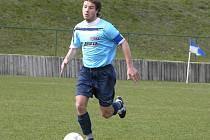 Martin Strnad na snímku coby divizní fotbalista Velkých Losin.