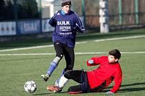Zimní příprava: Sulko versus Určice.