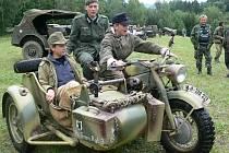 Tak to vypadalo na předminulém srazu vojenských veteránů v roce 2007