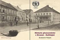 Návrh obálky publikace Historie pivovarnictví v Branné – Kolštejně.