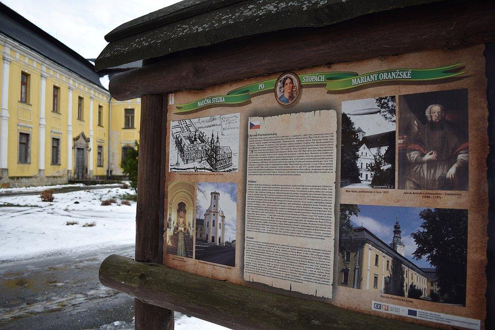 Bílá Voda - piaristický klášter.