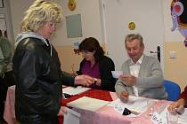 Voliči v Petrově nad Desnou