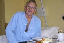 Karel Ertl v Jesenické nemocnici