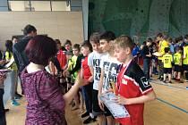 Další z turnajů projektu Florbal hrou, hrajeme napříč Evropou v České Vsi.
