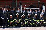 Sobotínští hasiči slavili v sobotu 22. července 130. výročí založení sboru. Při té příležitost uspořádali slavnost, na níž kněz vysvětil nový slavnostní prapor.