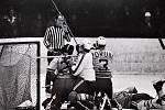 Šumperští s Porubou remízovali 4:4. Zápas vypukl v Šumperku 6. února 1972.