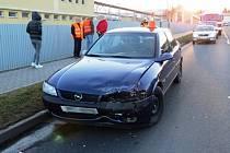 V České Vsi se srazila tři auta.