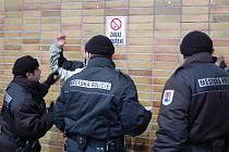 Policisté kontrolují olomoucké fanoušky