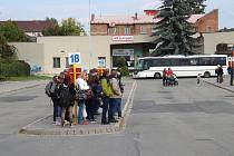 Lokalita budoucího přestupního terminálu v Šumperku