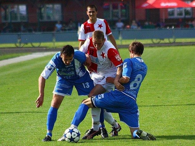 Zábřeh v utkání s Kroměříží