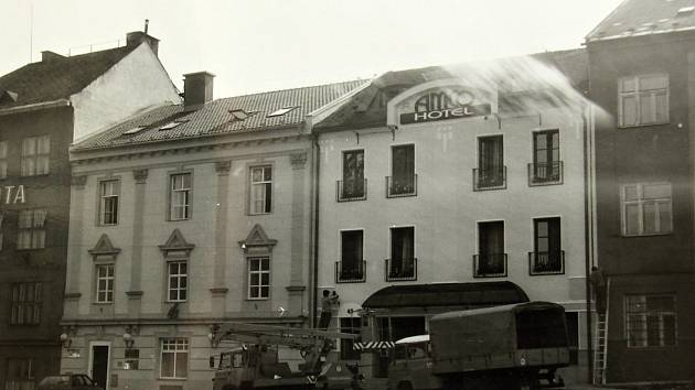 Hotel Amco na Masarykově náměstí
