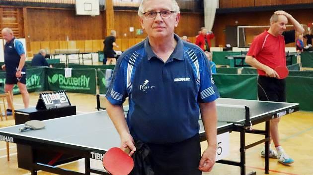 Miloš Matějíček na turnaji v Neratovicích.