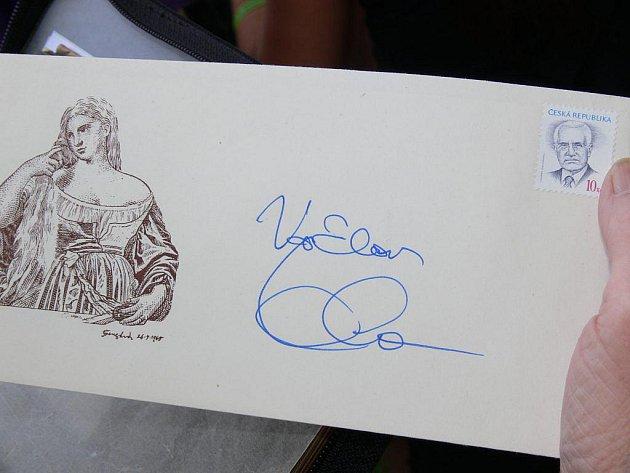 Prezident Václav Klaus navštívil Zábřeh