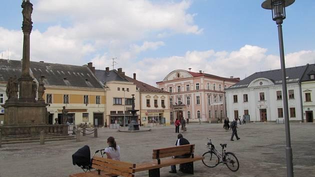 Mohelnické náměstí.