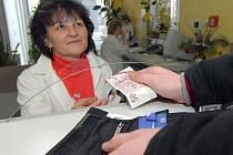 V šumperské a jesenické nemocnici se platí v hotovosti.