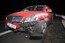 Pondělní dopravní nehody na Šumpersku