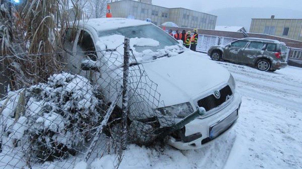 Nehoda v obci Lipová - lázně