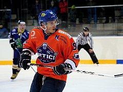 Petr Jurča v sobotním utkání proti Drakům