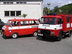 Technika dobrovolných hasičů v Bohutíně