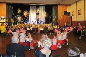 Formou originálních květinových vazeb představili zahradníci na svém plese v pátek 21. února v Zábřehu   všechny současné hlavní sporty.