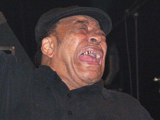 Snímek z loňského Blues Alive: americký zpěvák a harmonikář James Cotton