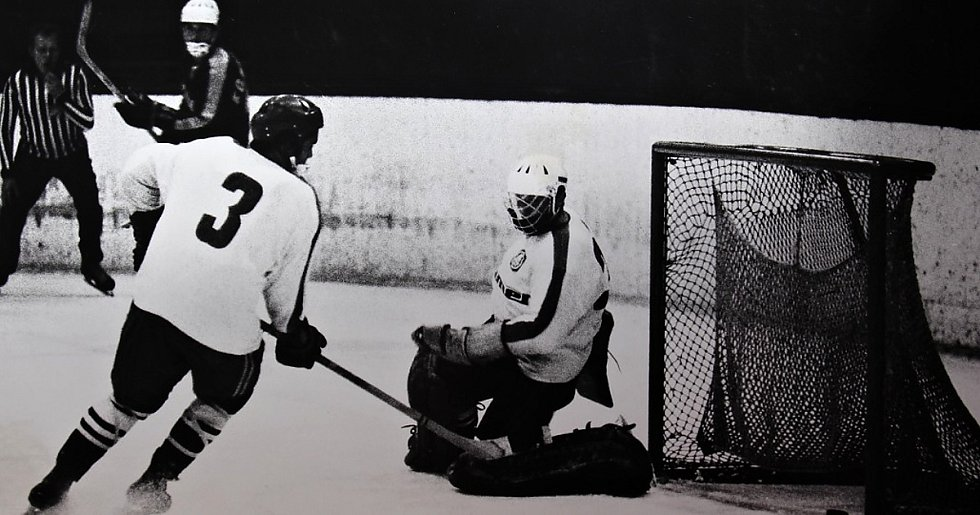 Šumperk 20. září 1972. Zápas Šumperku proti Kopřivnici skončil 1:9