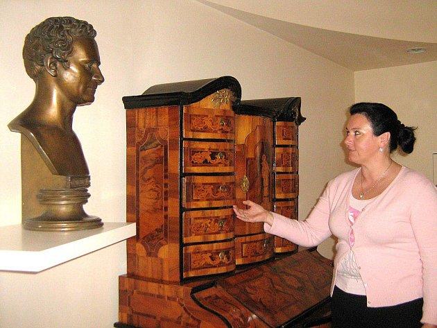 Ředitelka muzea Veronika Rybová