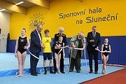 Otevření nové sportovní haly v Šumperku