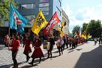 Slavnosti města Šumperka 1. června 2019.