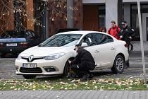 Šumperští strážníci při práci.
