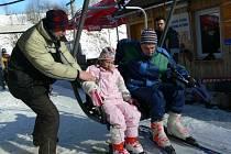 Středisko v Branné sice nabízelo jedny z nejlepších podmínek pro lyžování v Jeseníkách, ale ani zde nejsou s letošní zimou spokojeni.