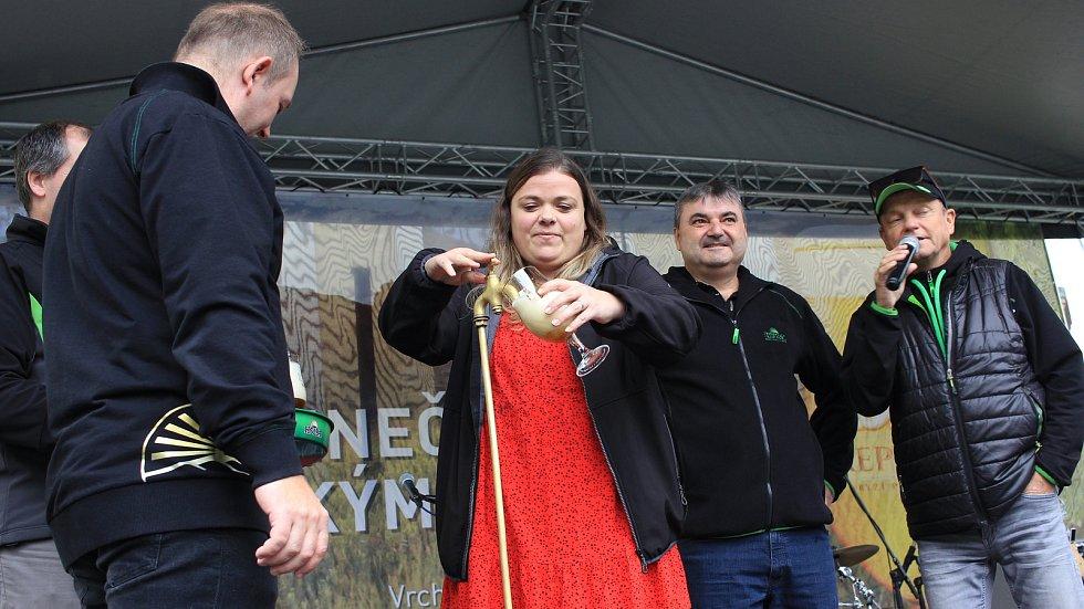 Herečka Lucie Polišenská
