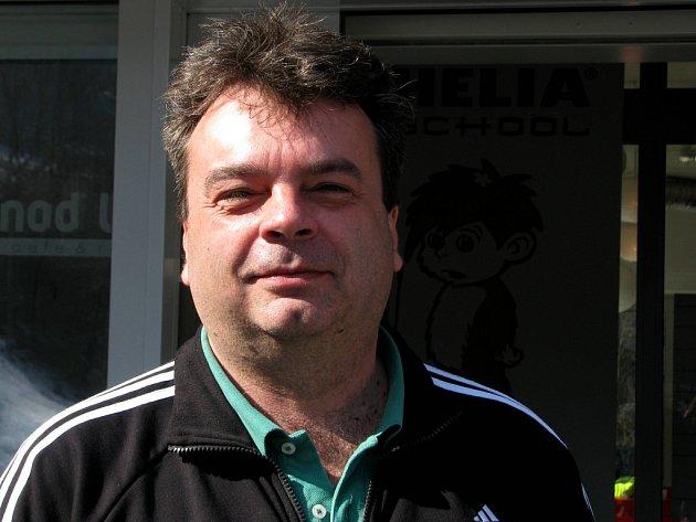 Petr Marek, ředitel areálu K3 Sport v Koutech nad Desnou