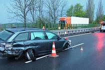 Nehoda na D35 z Mohelnice do Olomouce