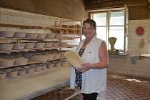 Helena Kubíková, spolumajitelka pekárny Šimbera v Libině.