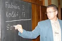 Tak vypadala volba starosty v Zábřehu před čtyřmi lety. Jaká jména budou asi na tabuli letos?