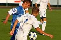 Zábřeh versus Břeclav (bílé dresy)