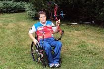 Jeden z nejlepších světových handicapovaných lukostřelců vsadil před šampionátem na kvalitu lázeňské péče a účinky sirné termální vody ve Velkých Losinách.