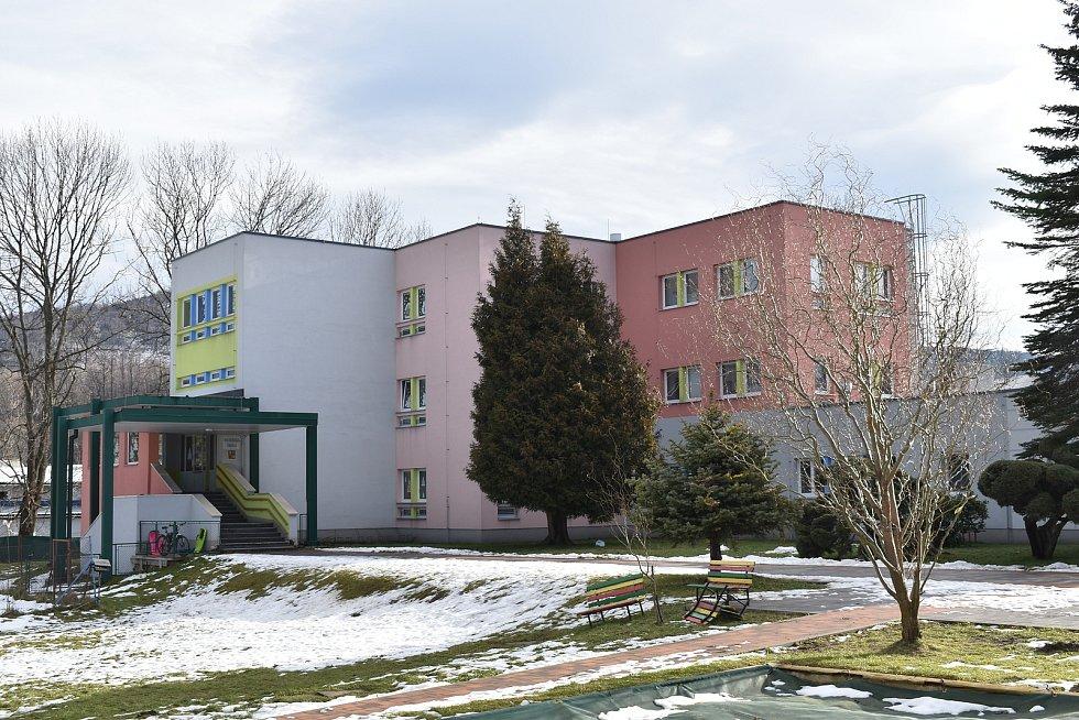 Zlaté Hory. Mateřská škola