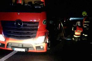 Nehoda mezi Mohelnicí a Moravskou Třebovou poblíž vesnice Gruna