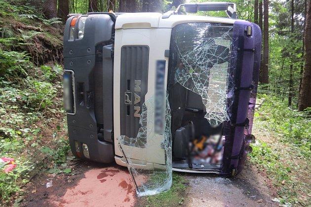 Nehoda 20.7.2017 u Branné