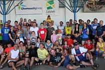 Účastníci předešlého ročníku půlmaratonu údolím Sázavy